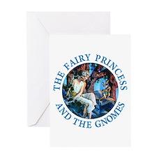 Princess and the Gnomes Greeting Card