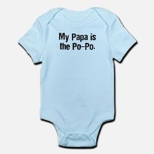 PapaPoPoTeeBlack Body Suit