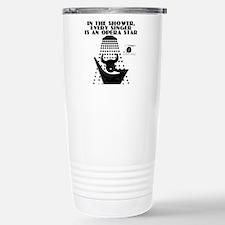 Singing in the shower Travel Mug