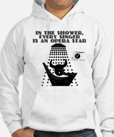 Singing in the shower Hoodie