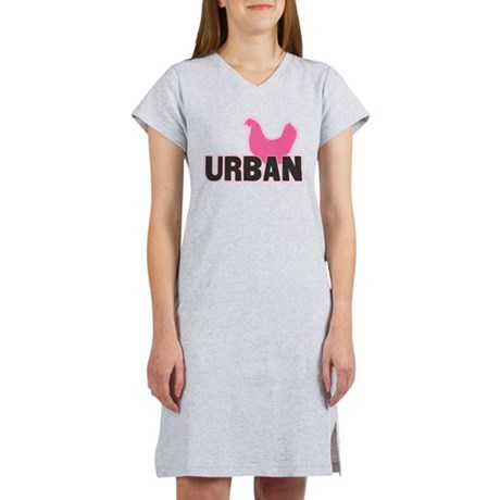 Urban Chicken Farmer Women's Nightshirt