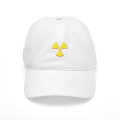 Vintage Radioactive symbol 2 Baseball Cap