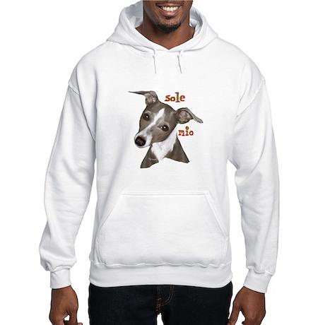 Italian Greyhound art Hooded Sweatshirt
