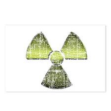 Vintage Radioactive Symbol 3 Postcards (Package of