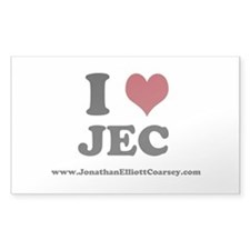 I Heart JEC Decal