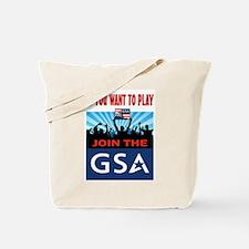 DEMOCRATS AT WORK Tote Bag