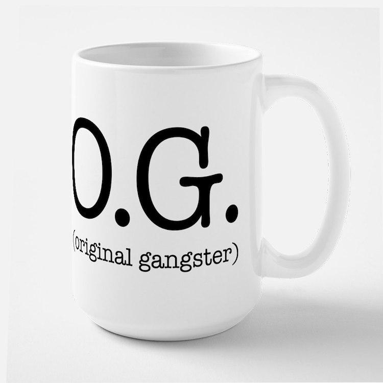 O.G. (original gangster) Large Mug