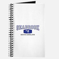 Seabrook South Carolina, SC, Palmetto State Flag J