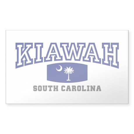 Kiawah South Carolina, SC, Palmetto State Flag Sti