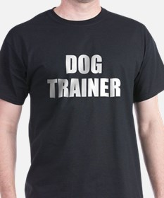 Dog Trainer Black T-Shirt