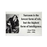 Oscar Wilde 29 Rectangle Magnet (100 pack)
