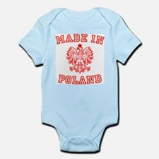 Made In Poland Infant Creeper