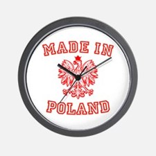 Made In Poland Wall Clock