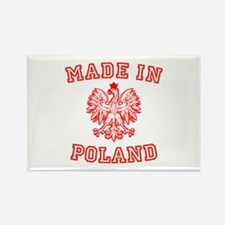 Made In Poland Rectangle Magnet