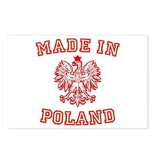 Made In Poland Postcards (Package of 8)
