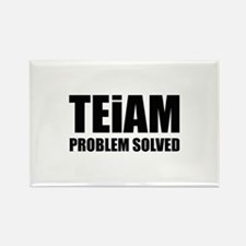 TEiAM Problem Solved Rectangle Magnet