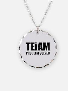 TEiAM Problem Solved Necklace