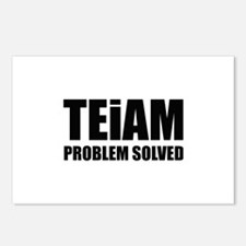 TEiAM Problem Solved Postcards (Package of 8)