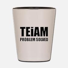 TEiAM Problem Solved Shot Glass