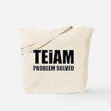 TEiAM Problem Solved Tote Bag