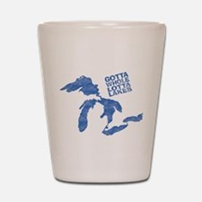 lakes Shot Glass