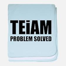 TEiAM Problem Solved baby blanket