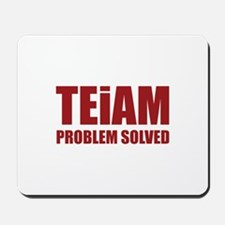TEiAM Problem Solved Mousepad