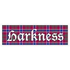 Tartan - Harkness Bumper Sticker