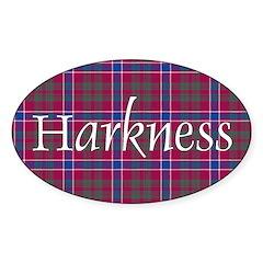 Tartan - Harkness Decal