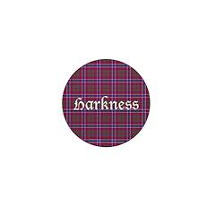 Tartan - Harkness Mini Button