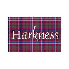 Tartan - Harkness Rectangle Magnet (10 pack)