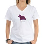 Terrier - Harkness Women's V-Neck T-Shirt