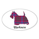Terrier - Harkness Sticker (Oval 50 pk)