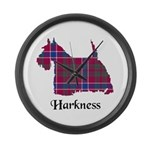 Terrier - Harkness Large Wall Clock