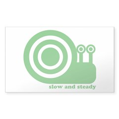 Slow Snail Decal
