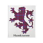 Lion - Harkness Throw Blanket