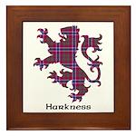 Lion - Harkness Framed Tile