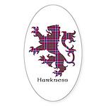 Lion - Harkness Sticker (Oval)