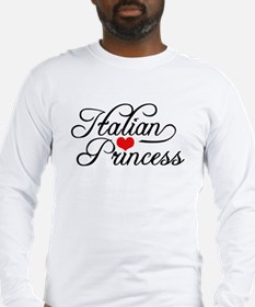 Italian Princess Long Sleeve T-Shirt