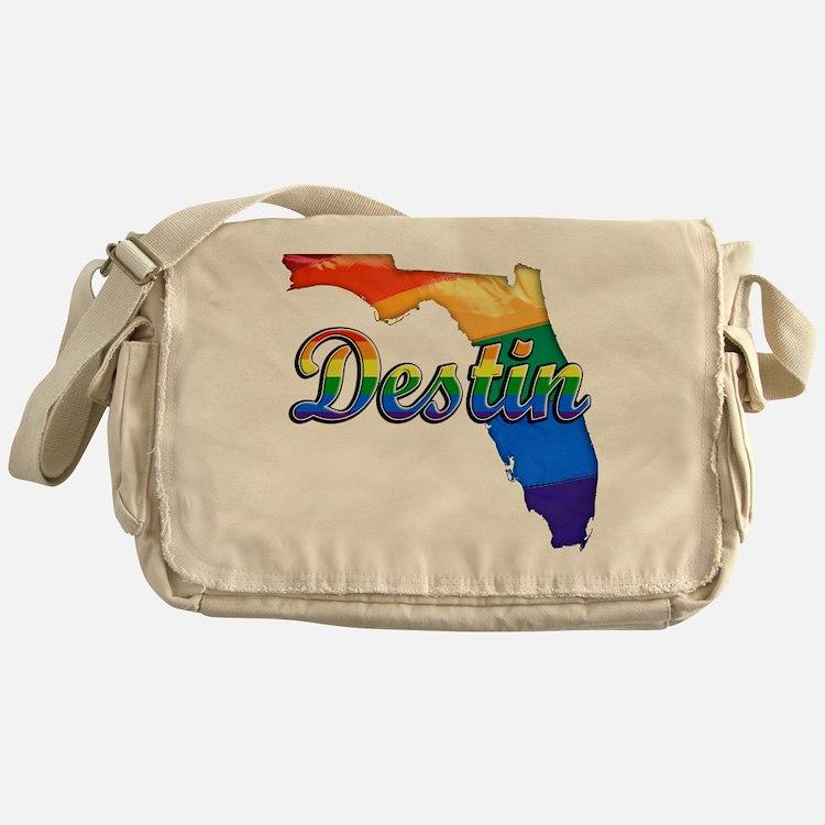 Destin, Florida, Gay Pride, Messenger Bag