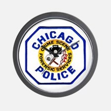 Chicago PD CSI Wall Clock
