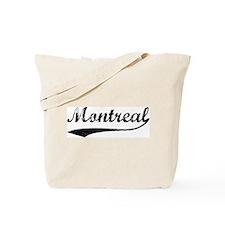 Vintage Montreal Tote Bag