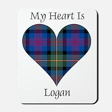 Heart - Logan Mousepad