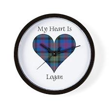 Heart - Logan Wall Clock