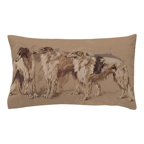 3 Borzois Pillow Case
