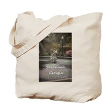 Savannah GA greening Tote Bag