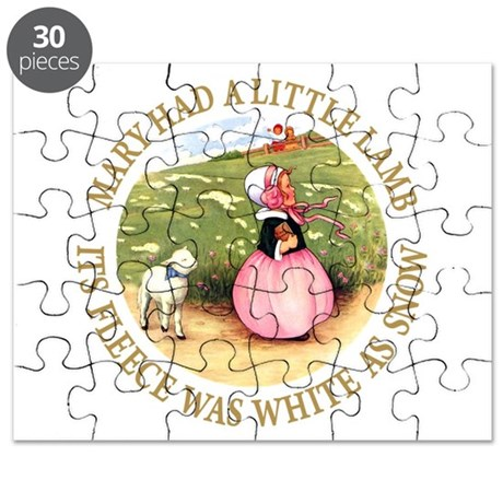 Mary Had A Little Lamb Puzzle