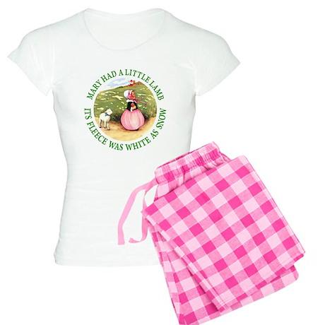 Mary Had A Little Lamb Women's Light Pajamas