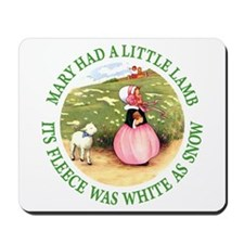 Mary Had A Little Lamb Mousepad