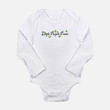 Unique Petite Long Sleeve Infant Bodysuit